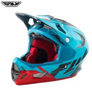 Fly 2017 Bike Werx Ultra Adult Helmet (Blue/Red/Black)